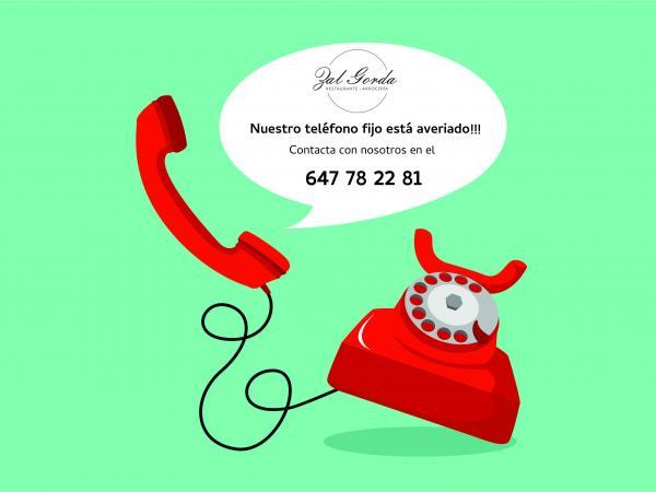 PROBLEMAS CON EL TELEFONO FIJO